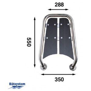 Bompresso per barche a motore 18'-25' Blackline